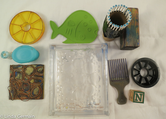 stamping tools for monotype printing