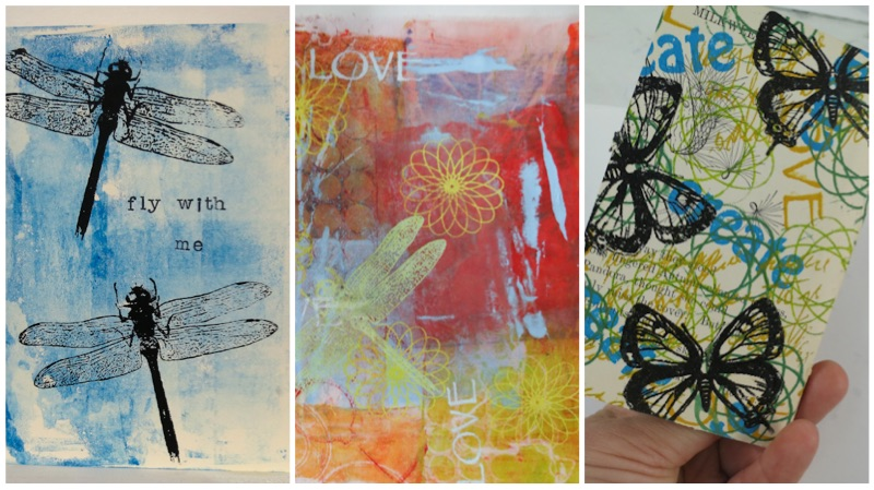 screen prints that are possible with the thermofax kit by linda germain