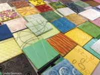 easy to make soft block printing plates