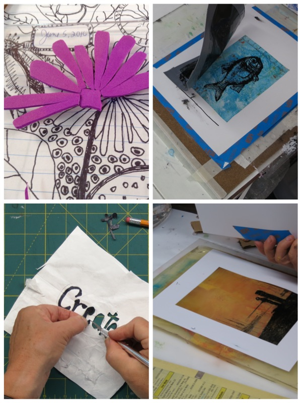 printmaking without a press demo