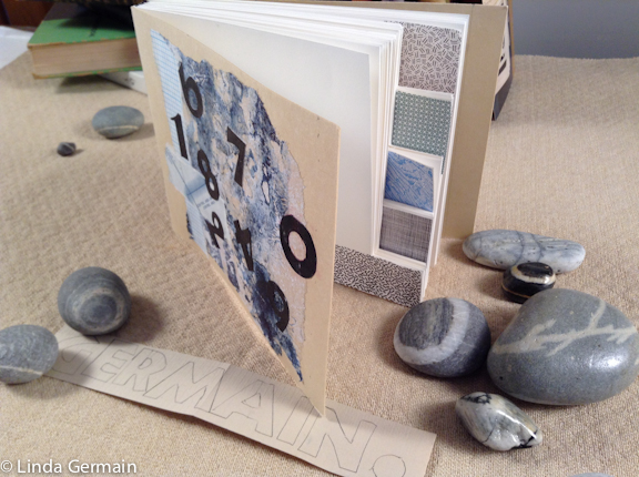Long stitched book