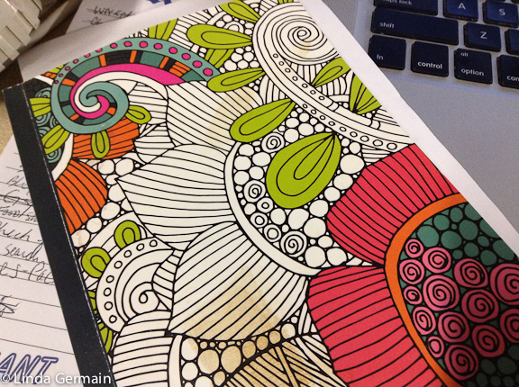 coloring books to inspire drawings