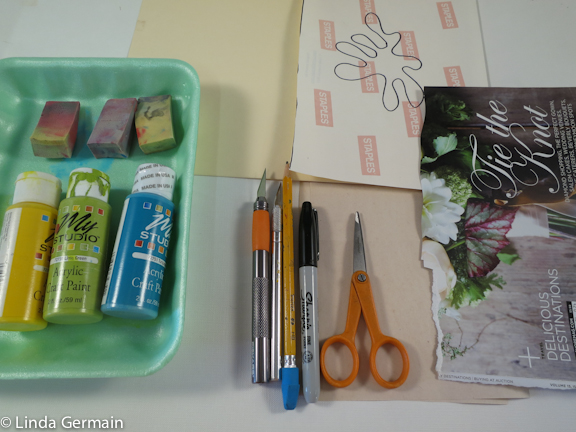 supplies to make your own stencils