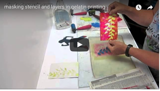 printmaking videos by linda germain