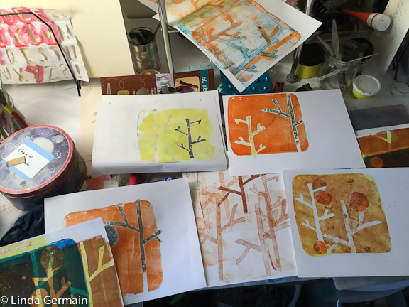 monotypes prints