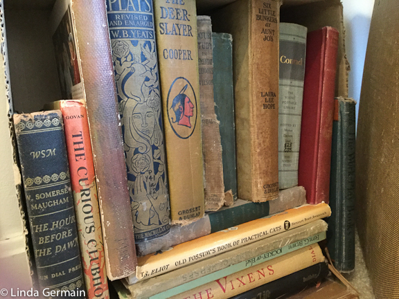 old books for making art