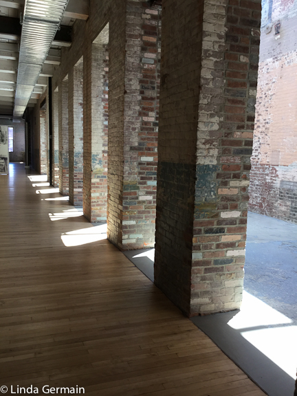 mill buildings at Mass MoCA