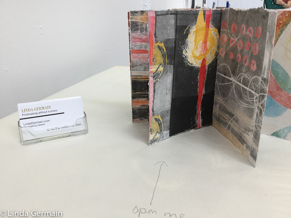 book of some monotypes by linda germain