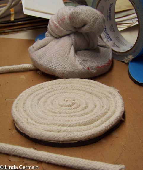 Make A Baren For Relief Printing Linda Germain