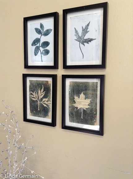 Make botanical set of prints